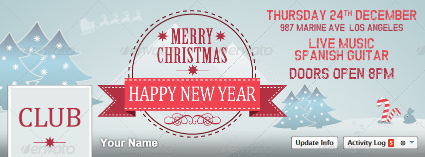 Christmas New Year Party Poster / Flyer / Facebook - RSplaneta ...