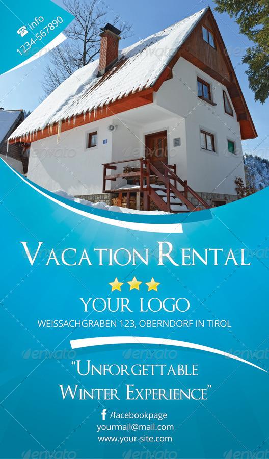 vacation rental flyer rsplaneta graphic design