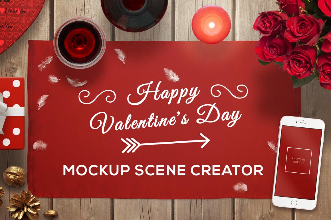 Valentine Mockup Scene Creator