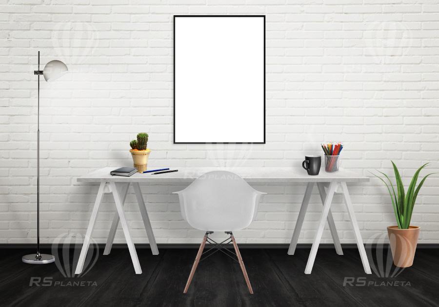 Office Poster Interior Scene Creator