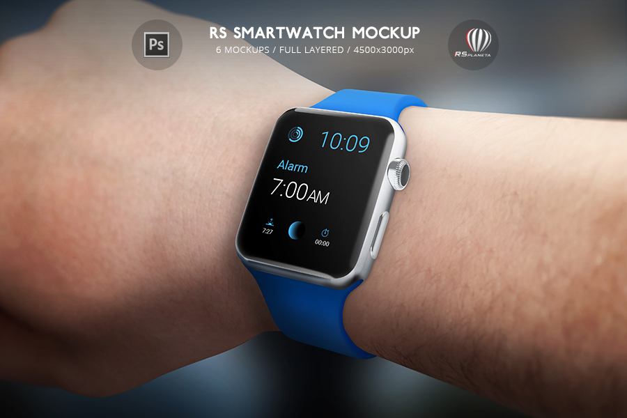 RS Smartwatch Mockup