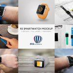 Apple Watch mockup RS Smartwatch Mockup