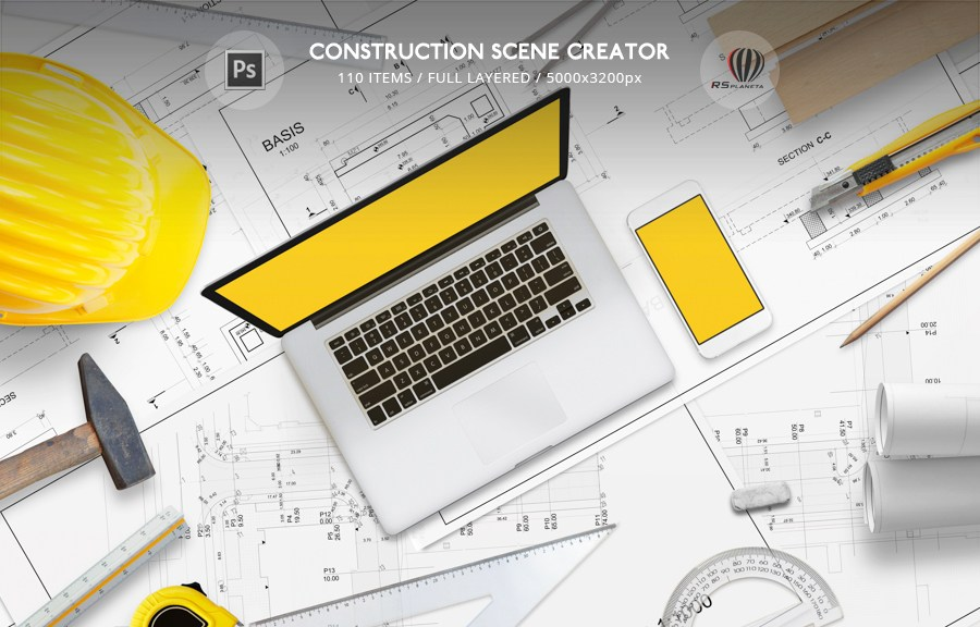 Construction Scene Creator