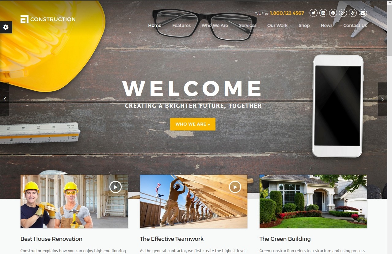 Hero header image web design ideas