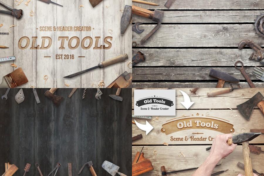 Old Tools Scene Header Creator