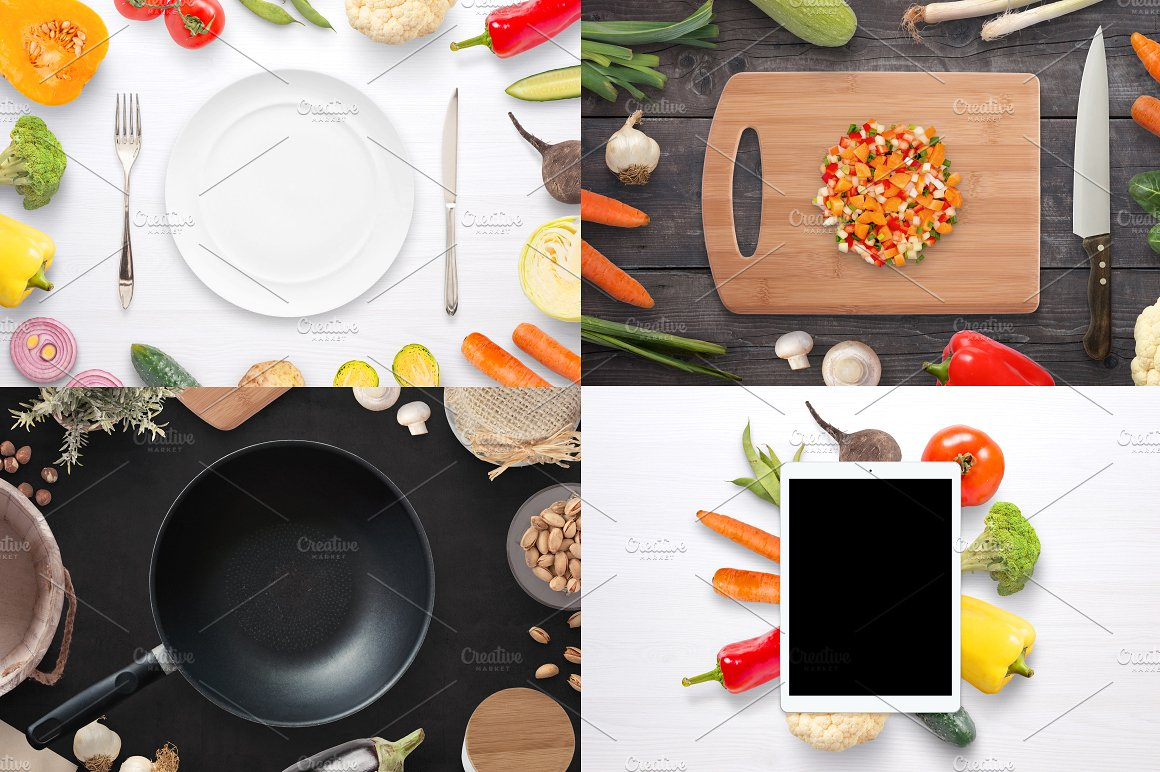 Vegetables HQ Scene Creator